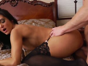 Feisty and agresively horny bitch Ava Addams has an incredible fuck in various positions
