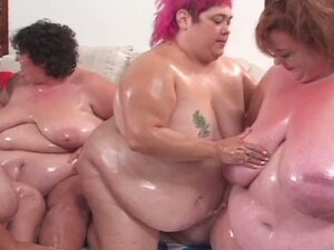 Fat babes playing games naked