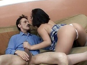 Kristina Rose Gets A Mouth Full Of Warm Dick Juice