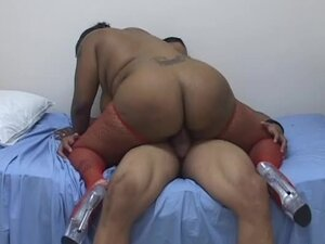 Thick black dude fucks black BBW
