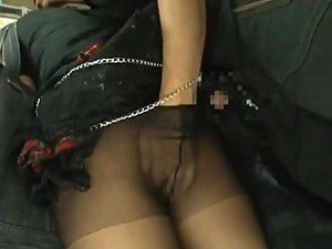 Punk Babe Teased and Fucked on a Train