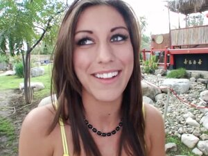 Cutie Rilynn Rae gives the hottest handjob