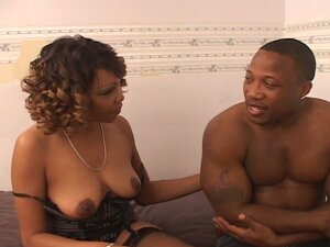 Hot black milf hard in nailed by another hard black dick