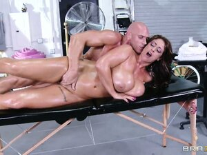 Her lovely tits bounce and shake and her ass trembles with bliss as she gets drilled hard