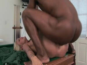 Sexy Stacy Thorn interracial with hard cock riding