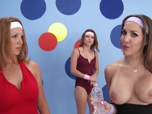 Big-tit aerobics instructor Kiera King loves big-dick