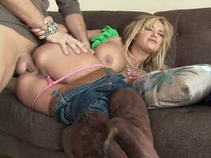 British Guy Banging The Canadian Asshole Of Blonde Slut Shyla Stylez