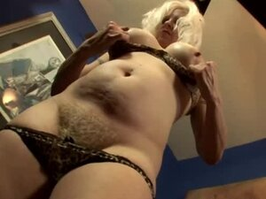 Dude fucks and cums on his gf's mother's hairy pussy
