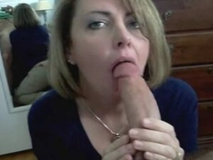 Sexy MILF - Blowjob and Swallow