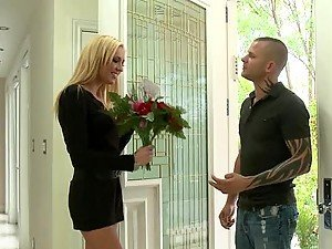Telling Victoria White To Stay The Fuck Out of His House with Rough Sex