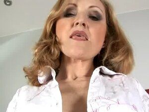 Jarka is a grandma who is always ready for a hot piece of meat in her snatch!