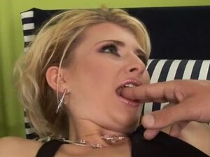 Blonde Slut Fucked In The Asshole By Big Dick.