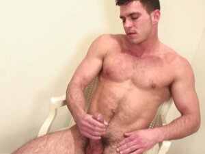 Super sexy gay hunk paddy o'brian naughty solo cock jerking fun