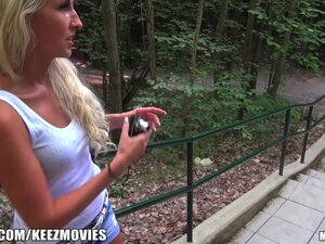 Mofos - Hot euro blonde gets picked up