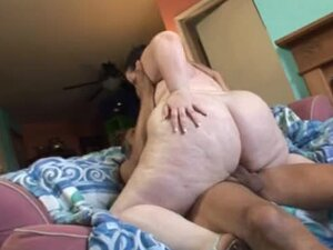 It must be tough having a huge fat girl riding your cock