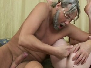 HOT TEEN BANGS OLD GUY