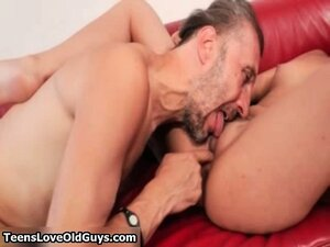 horny chick had fucked hard by an old part5
