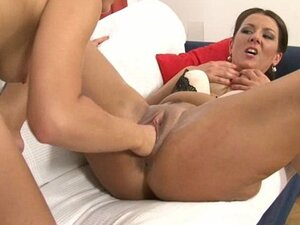 Lucy is brutally fisted by her gorgeous redhead friend Valentina