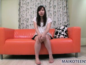 Satsuki, a hot Asian girl with amazing tits and a tight hairy cunt, is craving for fun