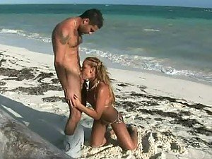 Blowjob Under The Sun On The Sand By Kathy Campbel