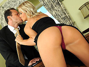 Serious businessman is out for very reLIABLE secretary to his company. But how would any good secretary support his businesses? Cameron Gold just gave him a passionate kiss and showed him her body and George was convinced! The company can't make any steps