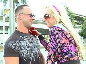 Blonde Babe Gets A Hard Fuck As A Birthday Present