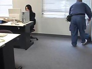 Molested sleeping Office Lady