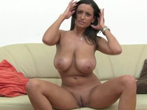 Busty brunette fuck at the casting