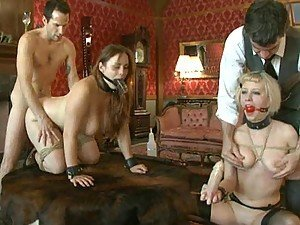 Pet Slave Tryouts With Two Gorgeous Babes