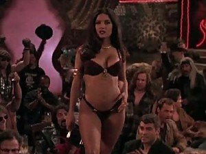 Spectacular Latina Salma Hayek Performs a Sexy Dance In Lingerie