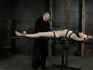 Too pallid chick needs to be tied up and fucked right away