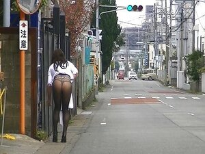 Jap CD Pantyhose Public Exhibitionism