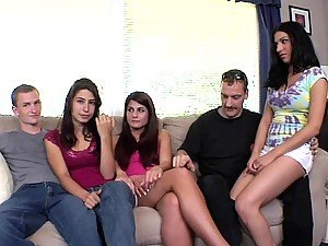 Giggidy Group Sex With Some Stunners
