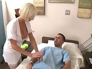 Nurse Treated To A Routine Ramming By Patient