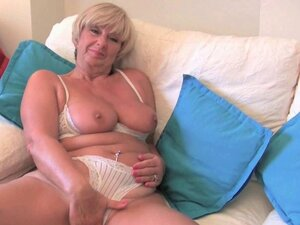 British granny Samantha needs her daily orgasm