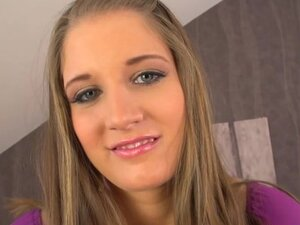 German amateur Claudia has amazing beautiful