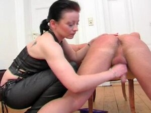 Handjob from German Mistress