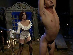 Male Slave loves getting Tortured and Spanked
