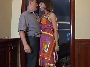 Amazing Hot Action with Horny MILF in Pantyhose