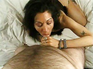 Mature POV sucking