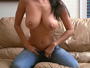 Sexy cowgirl with big tits blowjobs and rides a cock