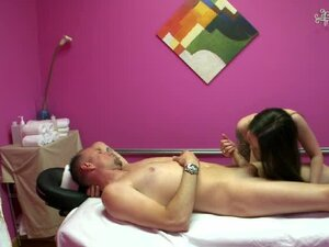 He pays for a happy ending massage