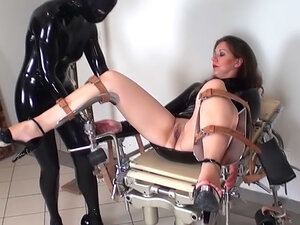 Jana Puff and her perverted sister with bondage
