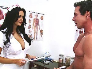 Ava Addams the busty nurse sucking and fucking in a hospital