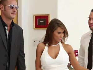 Swapping wives in sexy fuck video