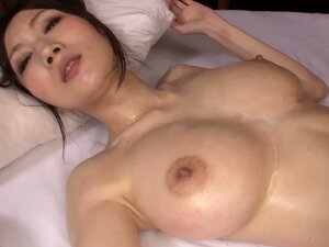 Julia does all that she can to please three horny dudes