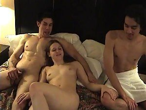 Curvy Amateur Gets Double Teamed In MMF Threesome
