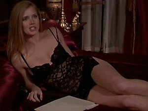 Imposible Not To Get Hard with Amy Adams in Black Lingerie