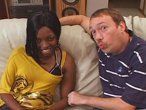 Hot Ebony Denea Slut Wife Trained to Swallow Cum!