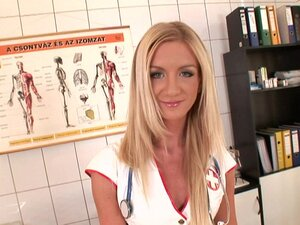 Sensual nurse pleases horny patient